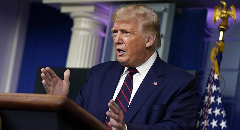 Ông Trump: Mỹ không thể hợp pháp hưởng lợi từ thương vụ TikTok - ảnh 1