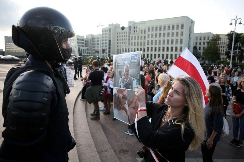 Nga cáo buộc Mỹ thúc đẩy biểu tình ở Belarus - ảnh 2
