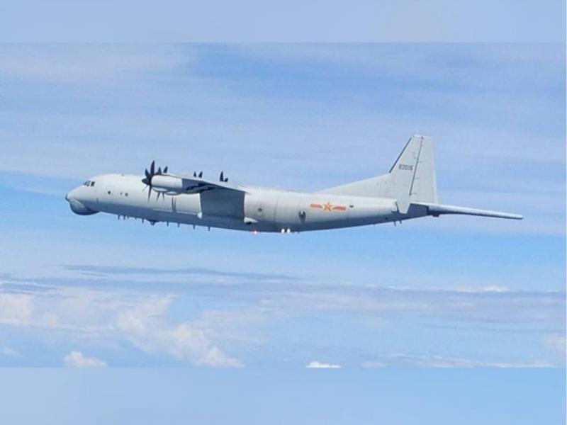 Máy bay chống ngầm Trung Quốc xuất hiện ngoài khơi Đài Loan - ảnh 1