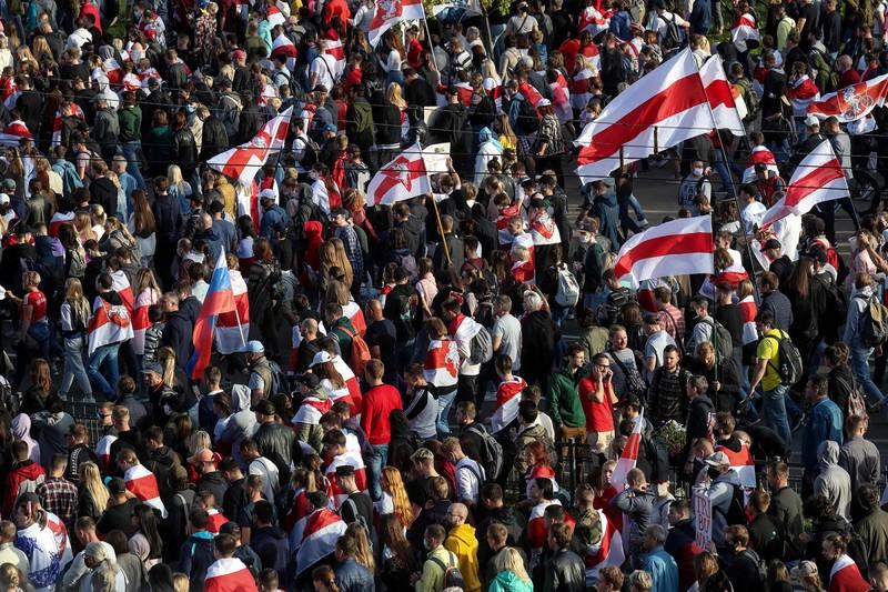 Nga cáo buộc Mỹ thúc đẩy biểu tình ở Belarus - ảnh 3