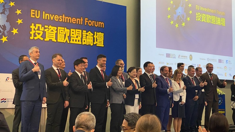 Diễn đàn đầu tư EU - Đài Loan: 'Gáo nước lạnh' lên Trung Quốc - ảnh 1