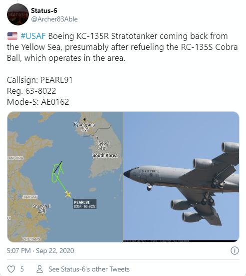Trung Quốc tố máy bay Mỹ gây nguy hiểm ở Biển Đông - ảnh 3