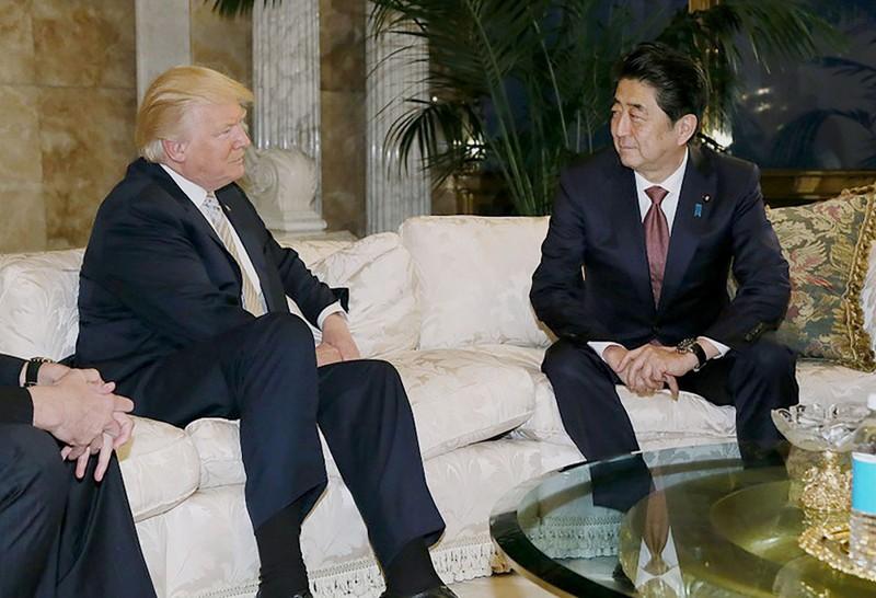 Ông Abe chia sẻ bí quyết giành thiện cảm từ ông Trump - ảnh 1