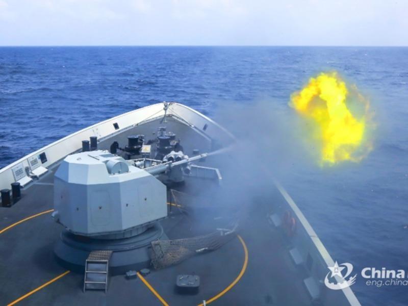 Trung Quốc có hai cuộc tập trận gần Hoàng Sa - ảnh 1