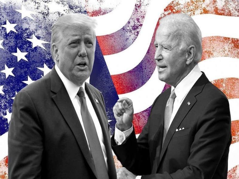 Tranh luận Trump-Biden: Hỗn loạn - ảnh 1