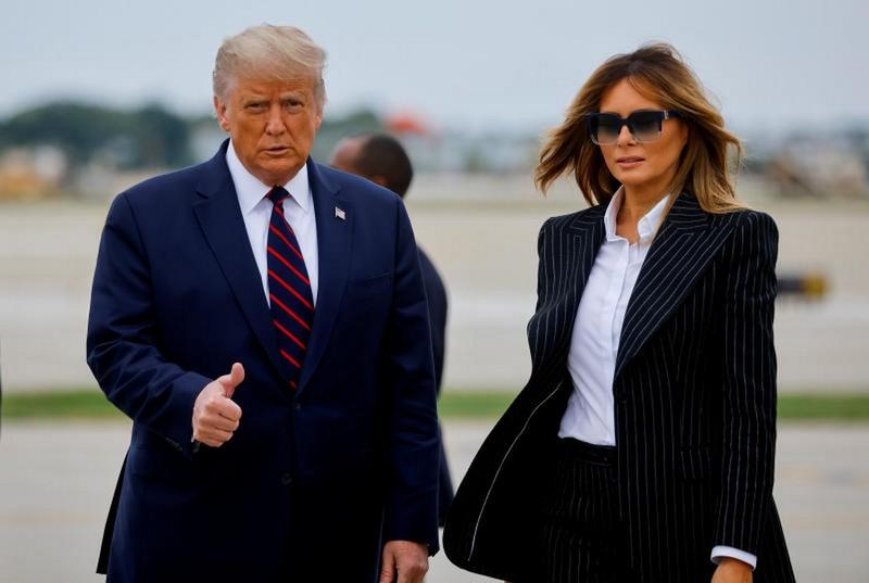 Ông Trump đi đâu, gặp ai trước khi có kết quả nhiễm COVID-19? - ảnh 1