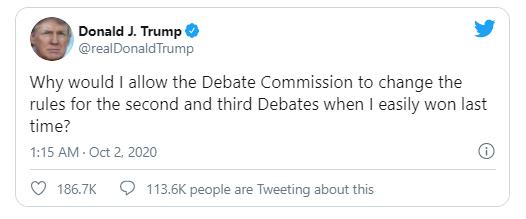 Cử tri Mỹ khuyên ông Biden hủy 2 buổi tranh luận còn lại - ảnh 3