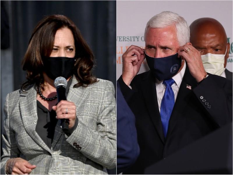 Hai ứng viên Phó Tổng thống Mỹ sẽ tranh luận qua tấm kính chắn - ảnh 1