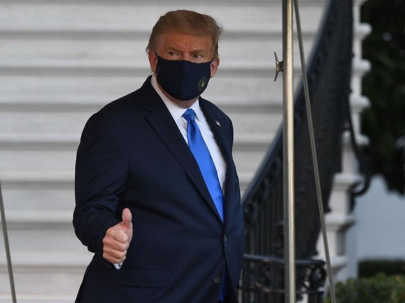 Điều trị COVID-19 ba ngày: Ông Trump thông báo xuất viện - ảnh 1