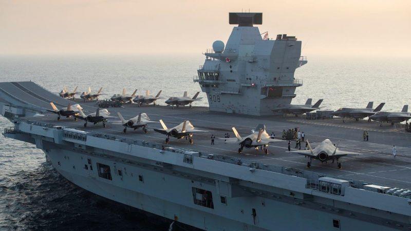 Tướng quân đội Anh liên tục thúc đưa tàu sân bay tới Biển Đông - ảnh 1