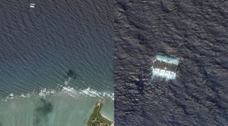 Ảnh vệ tinh: Bắc Kinh đặt máy phát năng lượng sóng ở Hoàng Sa - ảnh 1