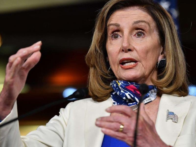 Chủ tịch Hạ viện Mỹ Pelosi đưa ra dự luật bãi nhiệm tổng thống - ảnh 1