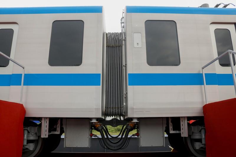 Chùm ảnh: Cận cảnh bên trong toa tàu metro số 1 - ảnh 10
