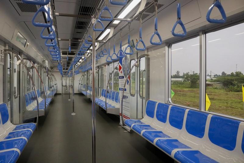 Chùm ảnh: Cận cảnh bên trong toa tàu metro số 1 - ảnh 4