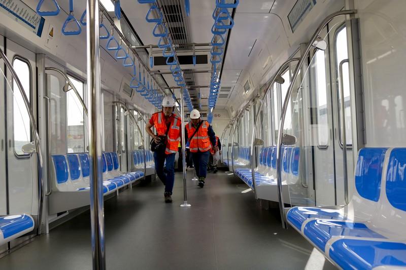 Chùm ảnh: Cận cảnh bên trong toa tàu metro số 1 - ảnh 7