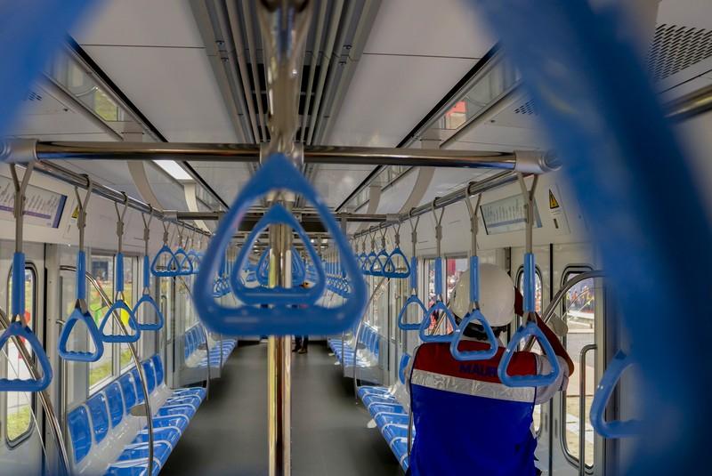 Chùm ảnh: Cận cảnh bên trong toa tàu metro số 1 - ảnh 5