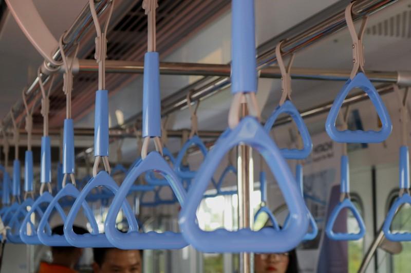 Chùm ảnh: Cận cảnh bên trong toa tàu metro số 1 - ảnh 6