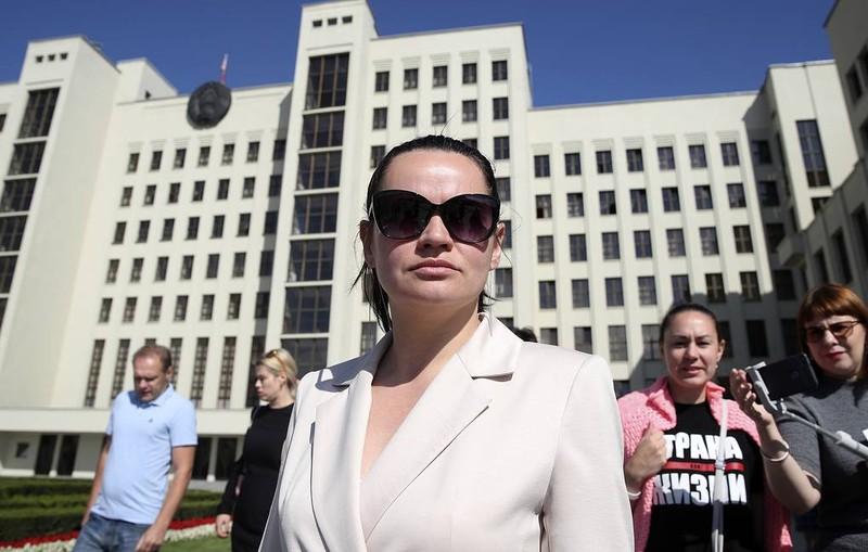 Bà Tikhanovskaya: Ông Lukashenko phải từ chức trước 25-10 - ảnh 1