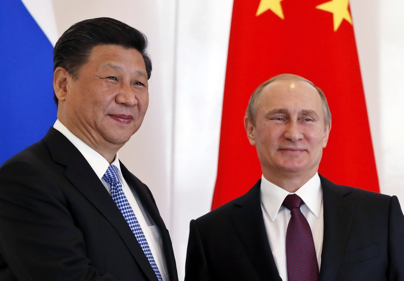 Trung Quốc nói 'sẵn sàng bắt tay' Nga thách thức vị thế Mỹ - ảnh 1