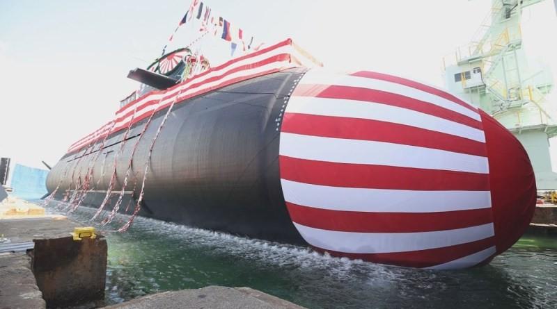 Nhật Bản hạ thủy tàu ngầm 'Cá voi lớn' đối phó Trung Quốc - ảnh 1