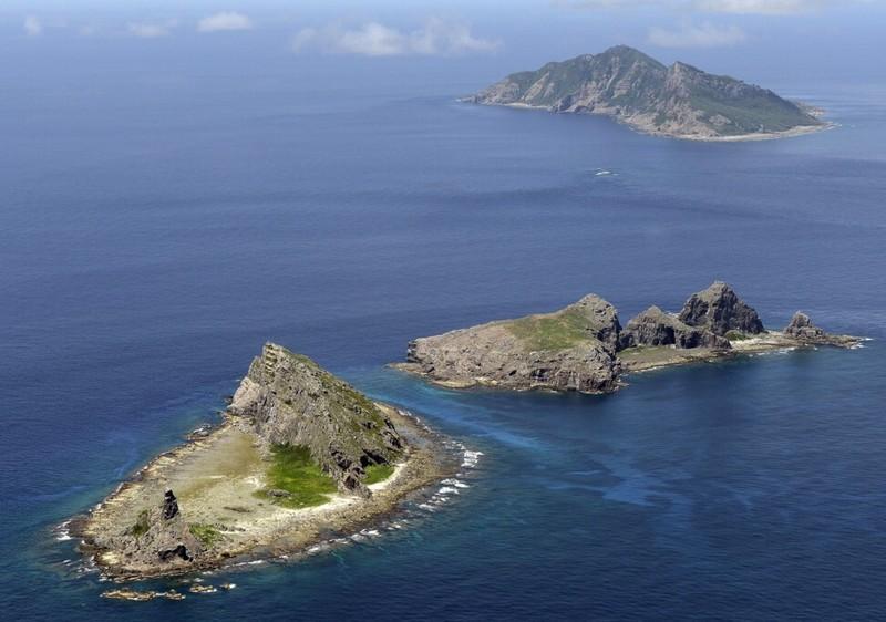 Nhật thử nghiệm UAV Thần hộ vệ biển Mỹ sản xuất gần Điếu Ngư - ảnh 3