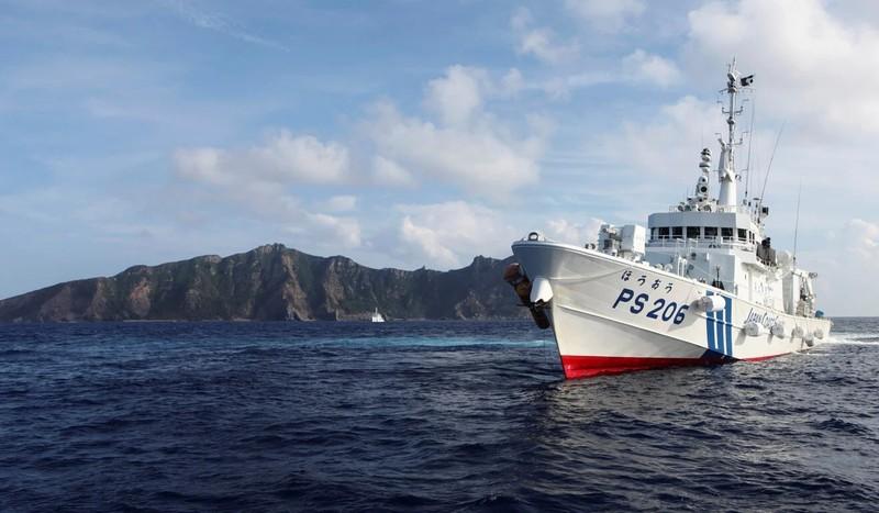 Nhật thử nghiệm UAV Thần hộ vệ biển Mỹ sản xuất gần Điếu Ngư - ảnh 2