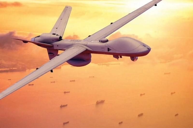 Nhật thử nghiệm UAV Thần hộ vệ biển Mỹ sản xuất gần Điếu Ngư - ảnh 1