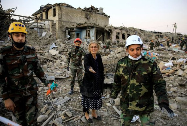 Armenia và Azerbaijan đồng ý ngừng bắn tại Nagorno-Karabakh - ảnh 2