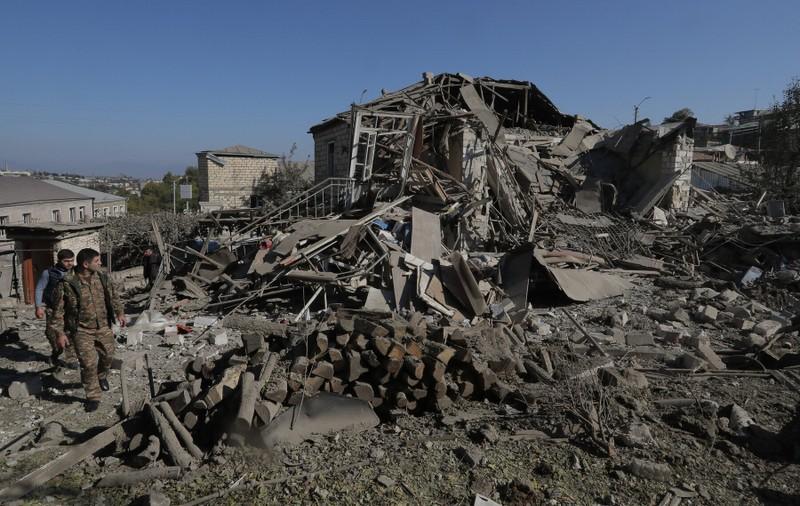 Armenia và Azerbaijan đồng ý ngừng bắn tại Nagorno-Karabakh - ảnh 4