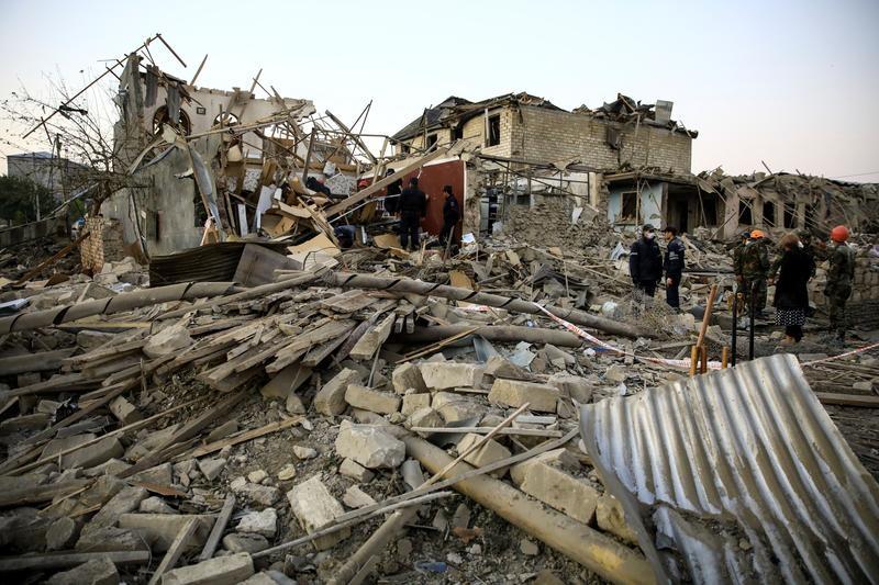 Armenia và Azerbaijan đồng ý ngừng bắn tại Nagorno-Karabakh - ảnh 1