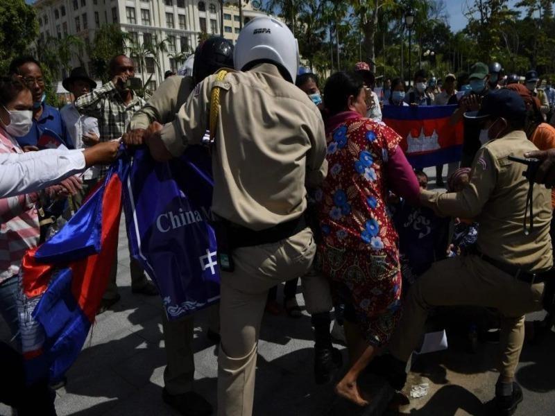 Campuchia: Biểu tình vì lo 'Trung Quốc tăng hiện diện quân sự' - ảnh 3