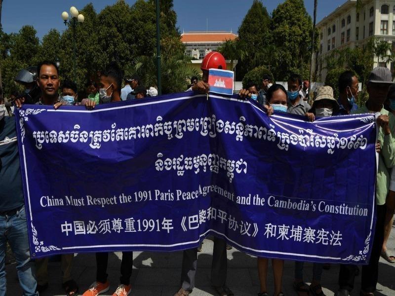 Campuchia: Biểu tình vì lo 'Trung Quốc tăng hiện diện quân sự' - ảnh 2