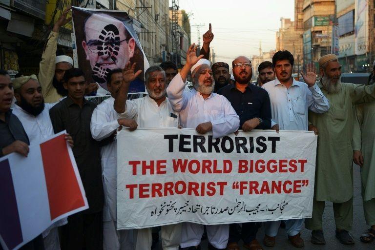 Các quốc gia Hồi giáo cáo buộc ông Macron 'chống đạo Hồi' - ảnh 4