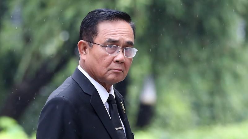 Bất chấp biểu tình, ông Prayut quyết không từ chức - ảnh 1