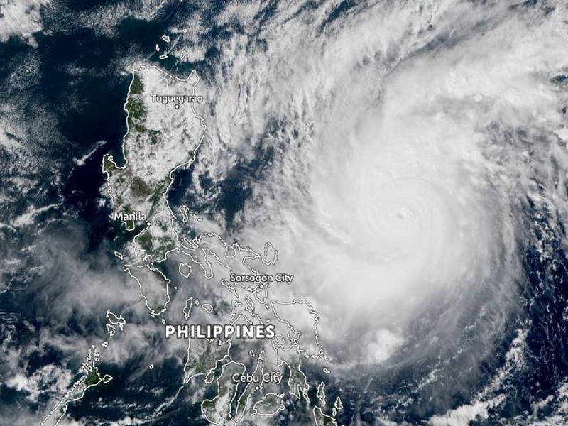 Siêu cuồng phong 'mạnh nhất thế giới' sắp quét qua Philippines - ảnh 1