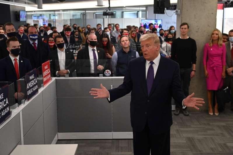 Ông Trump tự tin chiến thắng sẽ một lần nữa về tay mình - ảnh 1