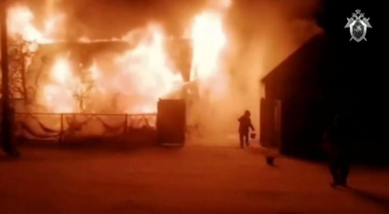 Không thoát kịp viện dưỡng lão bị cháy, 11 cụ chết thảm - ảnh 1
