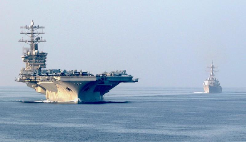 Mỹ duy trì tàu sân bay USS Nimitz ở Trung Đông để răn đe Iran - ảnh 1