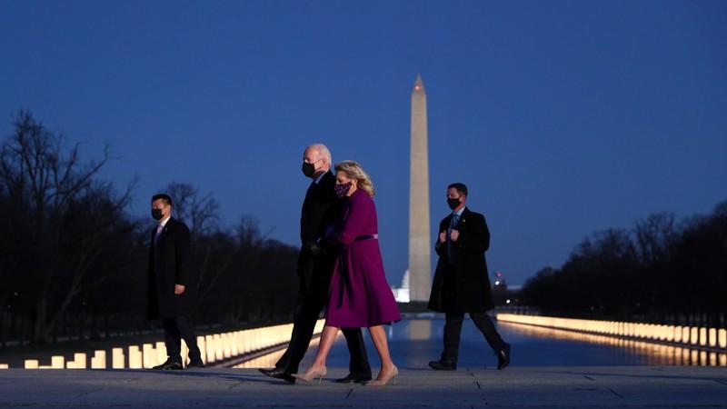 Ông Biden đã đến Washington D.C., sẵn sàng nhậm chức  - ảnh 1