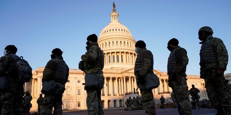 Vệ binh Mỹ ở thủ đô đến tháng 3 chờ phiên tòa xét xử ông Trump - ảnh 1