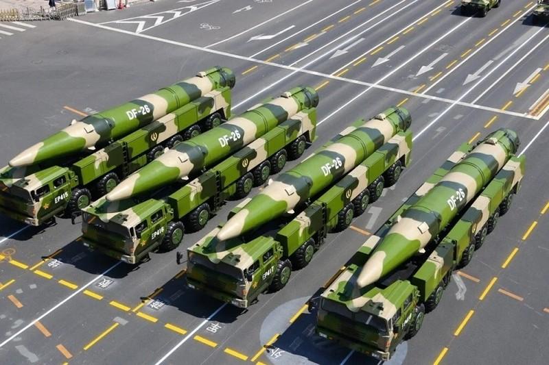 Có tin Trung Quốc điều 16 tên lửa DF-26 tới gần Nhật, Ấn Độ - ảnh 1