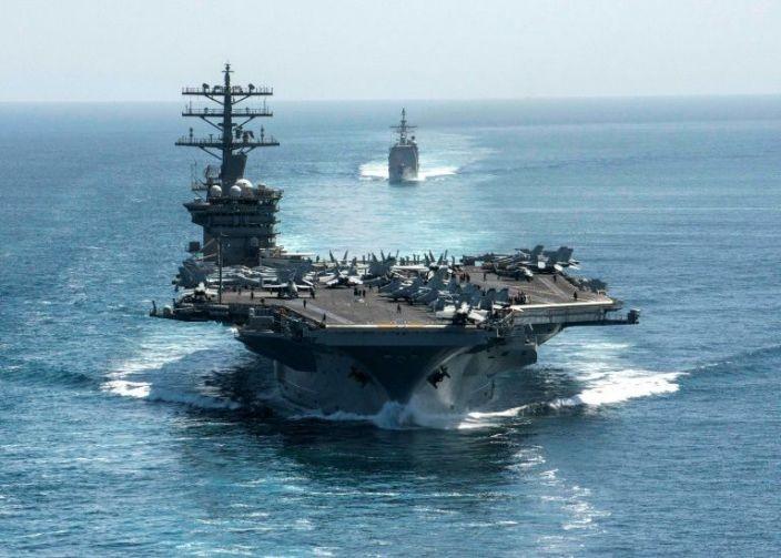 Rút tàu sân bay gần Iran, Mỹ muốn hạ nhiệt căng thẳng? - ảnh 1