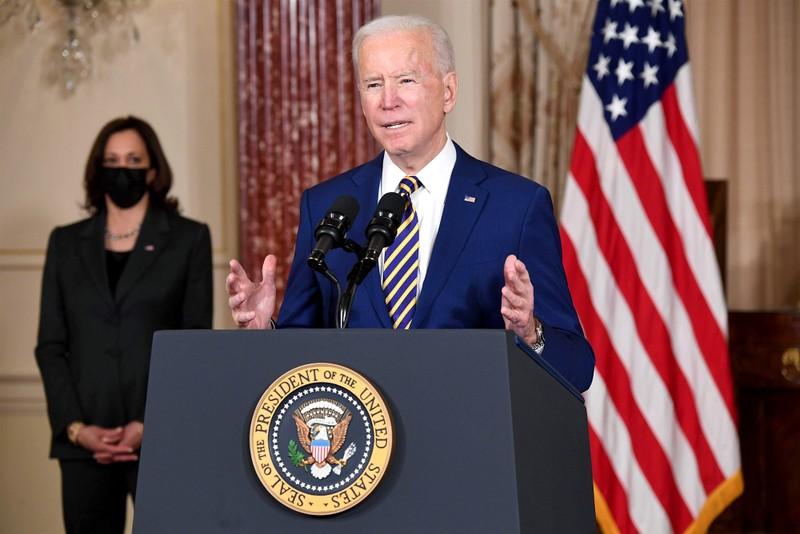 Ông Biden phát biểu đối ngoại: 'Nước Mỹ đã trở lại!' - ảnh 1
