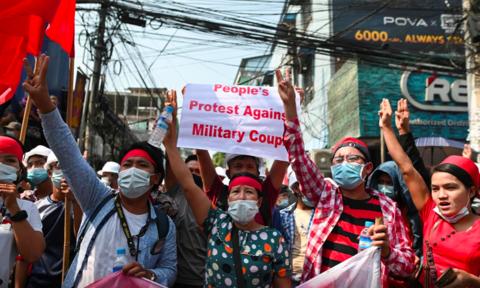 Internet ở Myanmar được khôi phục một phần - ảnh 1