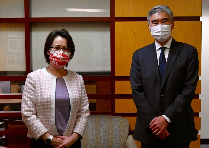 Mỹ, Đài Loan có cuộc gặp chính thức đầu tiên tại Washington - ảnh 1