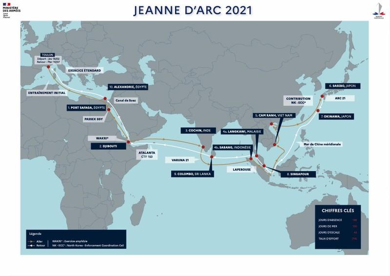 Pháp chính thức khởi động chiến dịch hàng hải đi qua Biển Đông - ảnh 1