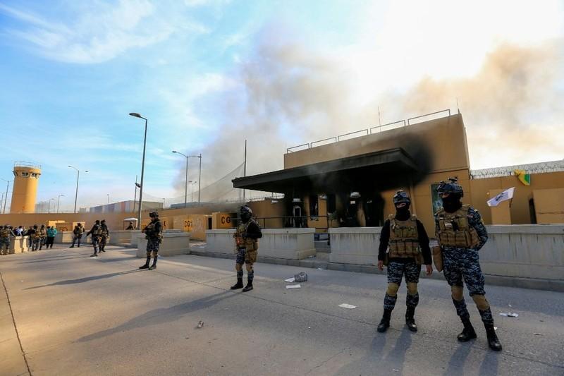 Lại thêm loạt tên lửa nhắm vào Đại sứ quán Mỹ ở Iraq - ảnh 2