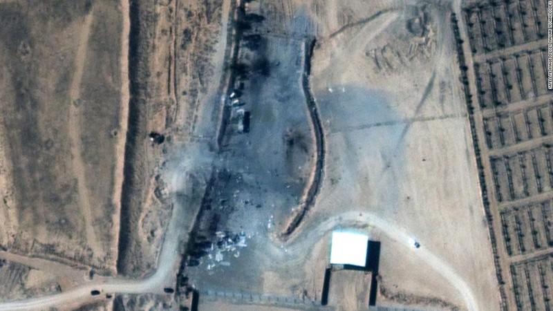 Mỹ tung hình ảnh cho thấy mức độ thiệt hại vụ không kích Syria - ảnh 2