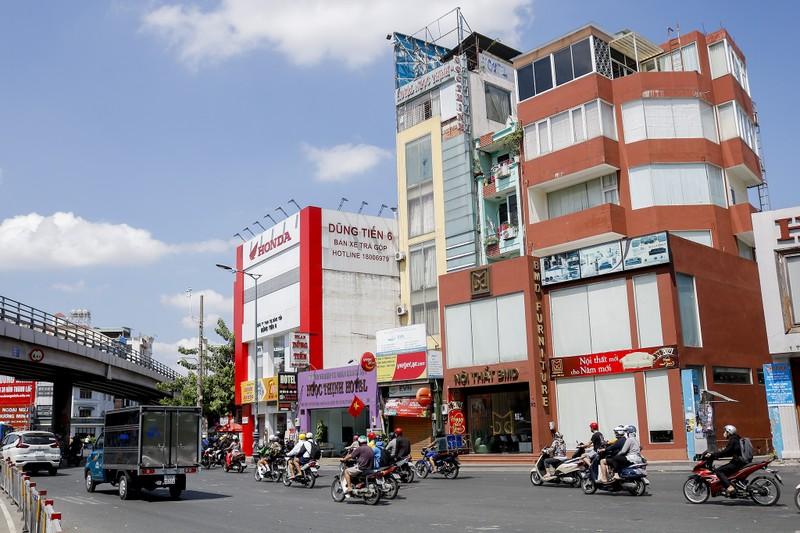 Ảnh: 2 dự án 300 tỉ giúp gỡ rối kẹt xe cửa ngõ Tân Sơn Nhất - ảnh 5