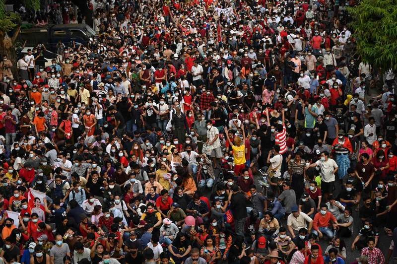 Toàn cảnh Myanmar: 149 người chết, hơn 2.000 người bị bắt giữ  - ảnh 1